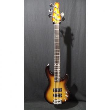 Custom G&L Tribute L2500 Electric Bass Guitar in Tobacco Burst & Gig Bag #2405