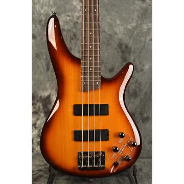 Custom Ibanez Soundgear SR370 Whiskey Gloss Sunburst 4 string Bass w Active Electronics & Deluxe Gigbag
