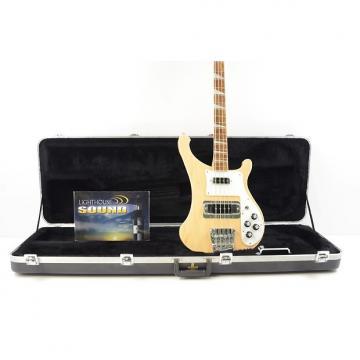 Custom 2014 Rickenbacker Model 4003 Stereo Bass Guitar - Maple Glo w/OHSC