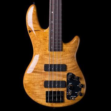 Custom ESP LTD H‑1004Se Honey Natural 4‑String Bass