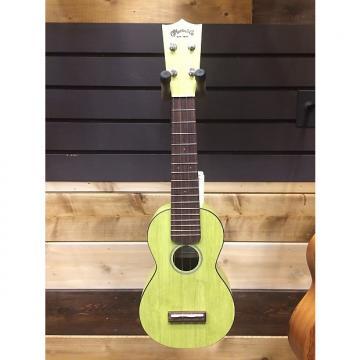 Custom Martin 0X Ukuele Bamboo Soprano Green