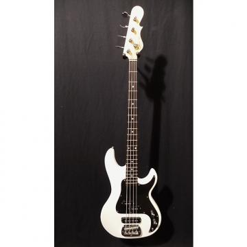 Custom G&L Tribute SB2 Electric Bass in Gloss White & Gig Bag #5227