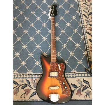 Custom Supro Bass 1960's Sunburst