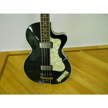 Custom 2005 HOFNER CLUB BASS 500/2 Black Custom Shop