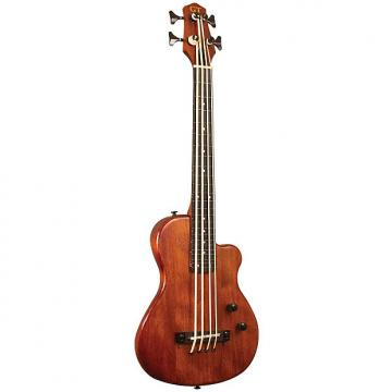 Custom Gold Tone ME-BassFL Solid Body MicroBass Fretless Guitar - Micro Bass with Gig Bag