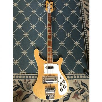 Custom Rickenbacker 4001 Bass 1976 Mapleglo
