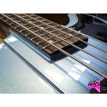 Custom Schecter  Sixx Bass, Pelham Blue (PHB)