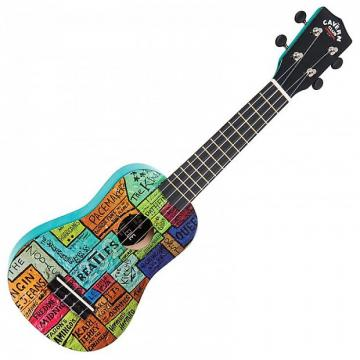 Custom The Cavern Club Ukulele - 'The Wall'
