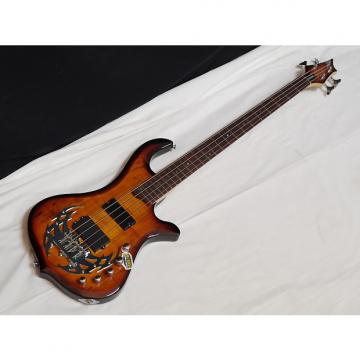 Custom TRABEN Array Limited 4-string BASS guitar - NEW - Spalt Burst - Active Preamp