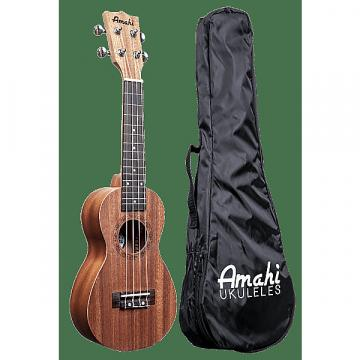 Custom Amahi UK140 Soprano Peanut Shaped Ukulele