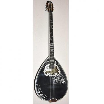 Custom Matsikas Greek 8-String Bouzouki w/ Soft Case - Black