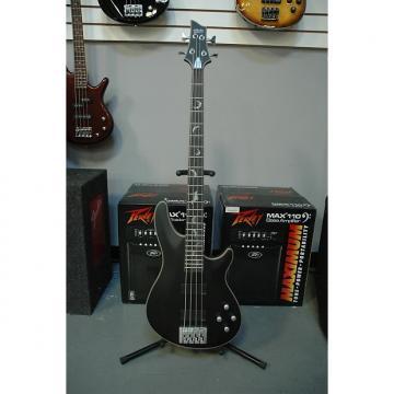 Custom Schecter  Damien Platinum-4, Satin Black