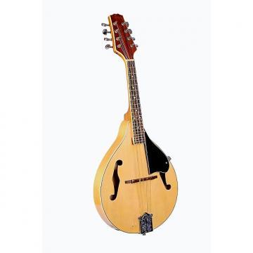 Custom Glen Burton Natural Spruce Mandolin Teardrop Style with soft case Free Shipping.