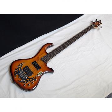 Custom TRABEN Array Limited 4-string BASS guitar - Spalt Burst - NEW - Active Preamp