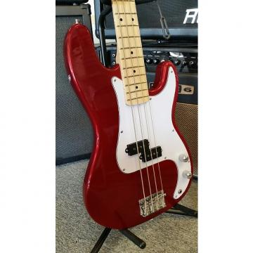 Custom Jay Turser JTB 400M Candy Apple Red 4 String Electric Bass