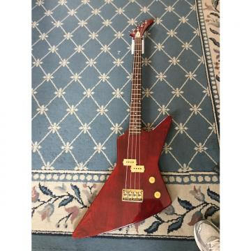 Custom Arbor Bass 1970's See-Thru Cherry Red