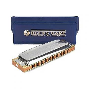 Custom Hohner Blues Harp in the key of D