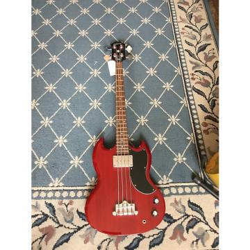 Custom Epiphone EB-0 2008 Cherry Red