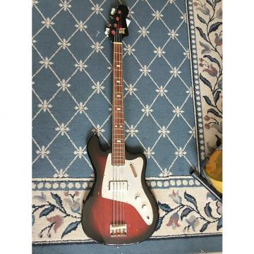 Custom Kent Bass 1960's Cherry Burst