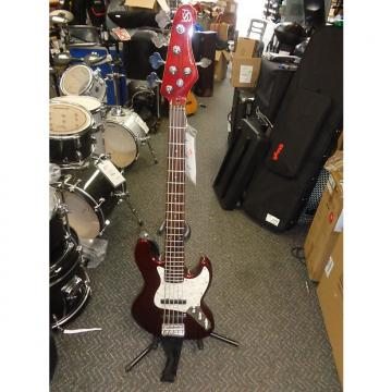 Custom nos Ken Smith Designs Proto-J 5-string electric bass cherry