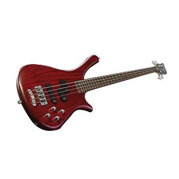 Custom Warwick RockBass Fortress 4-String Bass - Burgundy