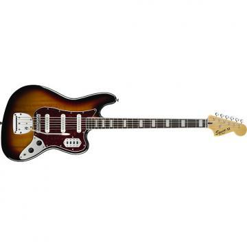 Custom Fender Squier Vintage Modified Bass VI 3 Tone Sunburst Guitar