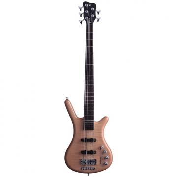 Custom Warwick RockBass Corvette Premium 5-String Bass - Natural Satin