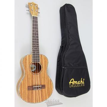 Custom Amahi UK330 Classic Series Zebrawood Ukulele - Tenor