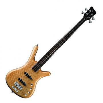 Custom Warwick RockBass Corvette Premium 4-String Bass - Natural Satin
