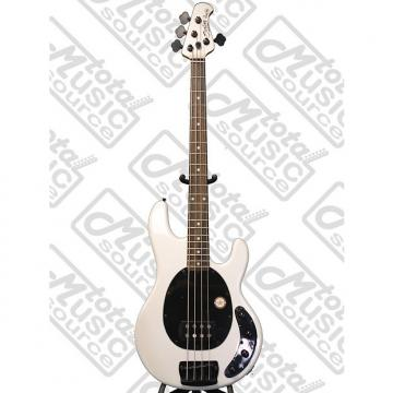 Custom Sterling by Music Man RAY34 Pearl White Bass w/ Gig Bag, Swamp Ash Body, RAY34-PWH/R