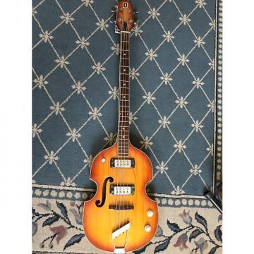 Custom Teisco Violin Bass Copy circa 1970 Honey Burst