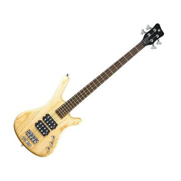 Custom Warwick RockBass Corvette 4-String Bass - Natural Satin