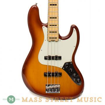 Custom Fender American Elite Jazz Bass - Tobacco Burst