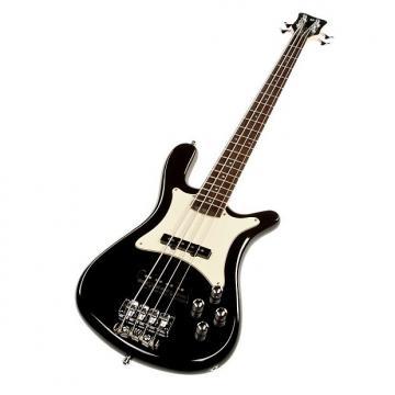 Custom Warwick Streamer CV 4-String Bass - Black HP