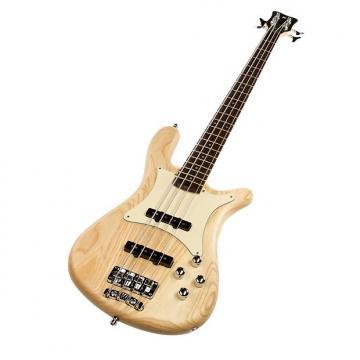 Custom Warwick Streamer CV 4-String Bass - Natural Satin