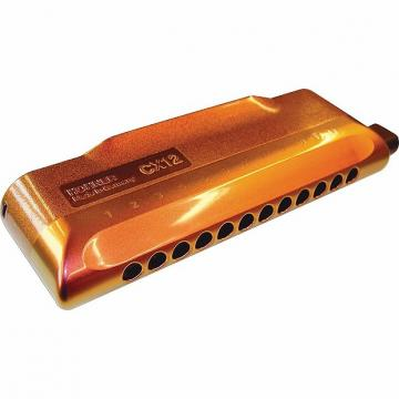 Custom Hohner CX12 Jazz Red Gold Fade Chromatic Harmonica Cromatica Worldship FREE 2 Day Air