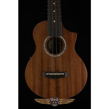 Custom Ibanez UEW5E-OPN Acoustic Electric Ukulele, Mahogany, Factory 2nd
