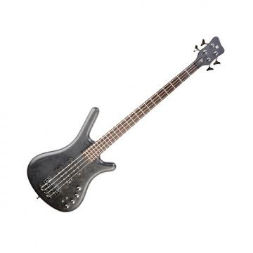 Custom Warwick GPS Corvette Double Buck Bass Guitar - Nirvana Black