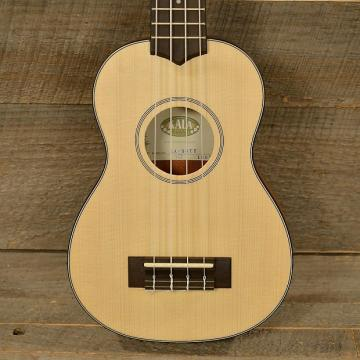 Custom Kala KA-SSTU Thinline Soprano Travel Ukulele MINT