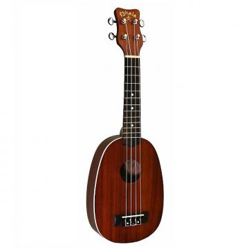 Custom Kohala AK-SP Akamai Series Pineapple Soprano Ukulele with Binding