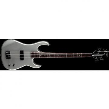 Custom DEAN Zone 4-string BASS guitar NEW Metallic Silver w/ DEAN HARD CASE - Bolt-on