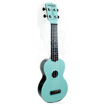 Custom Makala Waterman Soprano Ukulele, Blue Glow