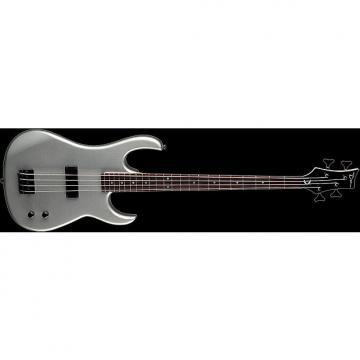 Custom DEAN Zone 4-string BASS guitar NEW Metallic Silver - Bolt-on