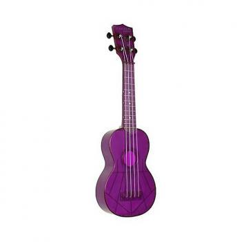 Custom Makala Waterman Soprano Ukulele, Purple