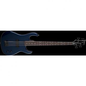 Custom DEAN Zone 4-string BASS guitar NEW Metallic Blue w/ DEAN HARD CASE - Bolt-on