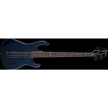 Custom DEAN Zone 4-string BASS guitar NEW Metallic Blue w/ GIG BAG - Bolt-on