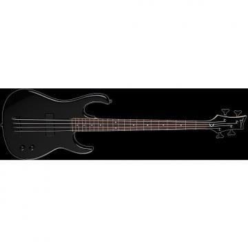 Custom DEAN Zone 4-string BASS guitar NEW Metallic Black w/ DEAN HARD CASE - Bolt-on