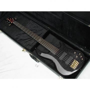 Custom DEAN Edge Pro 5-string BASS guitar Trans Black NEW with FREE HARD CASE