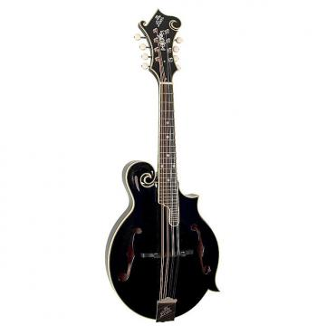 Custom The Loar LM-600 Professional Series Mandolin with Electronics, Black