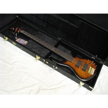 Custom DEAN Edge Pro 5-string BASS guitar Tiger Eye NEW with FREE HARD CASE